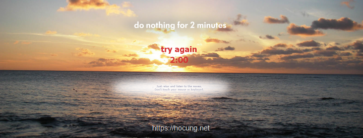 10 trang web thu gian donothingfor2minutes