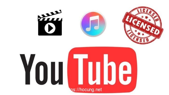 ban quyen tren youtube