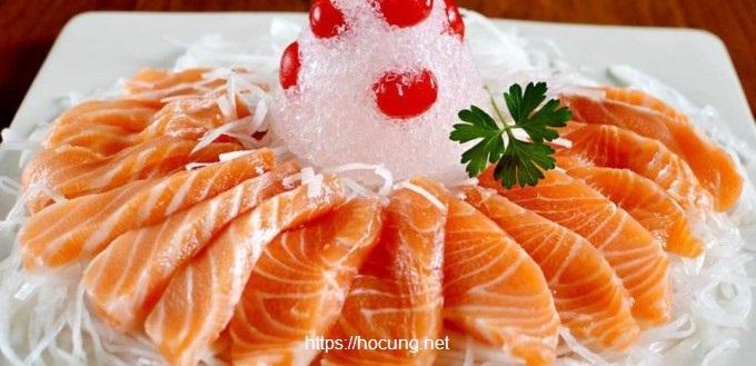 ca hoi sashimi