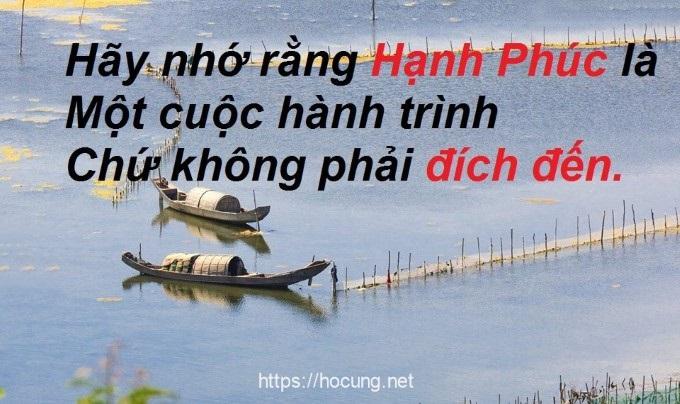 hanh phuc la cuoc hanh trinh