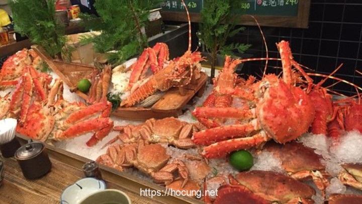 lau hai san cua king crab