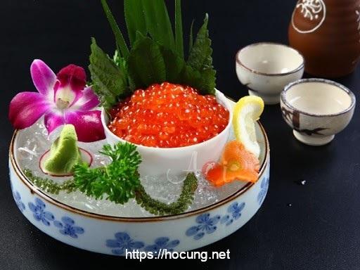 sashimi trung ca hoi