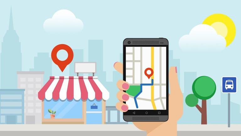 ban hang tren google maps
