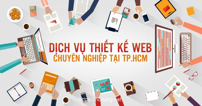 dich vu thiet ke web tai tphcm