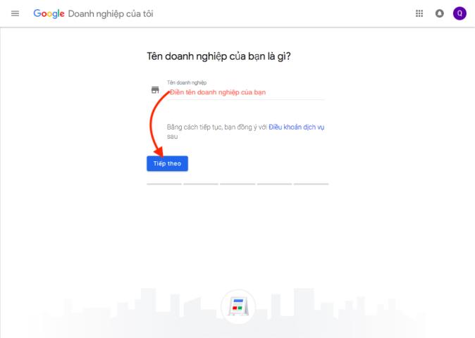 ten doanh nghiep google maps
